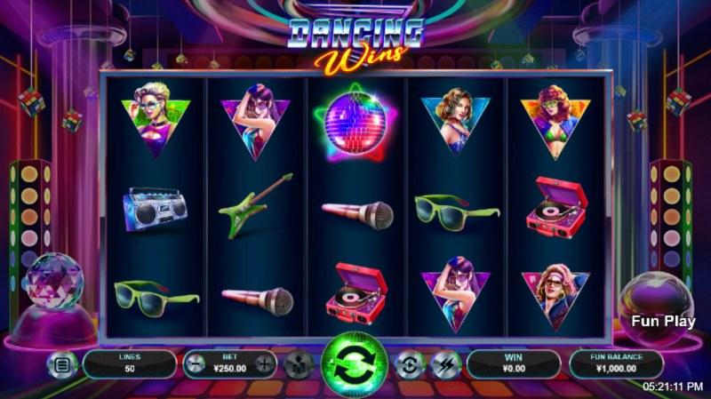 Dancing Wins :: Main Game Board