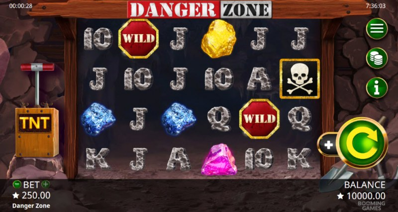 Danger Zone :: Main Game Board