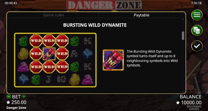 Danger Zone :: Bursting Wild Dynamite