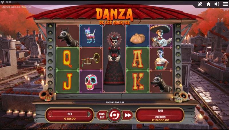 Danza De Los Muertos :: Base Game Screen