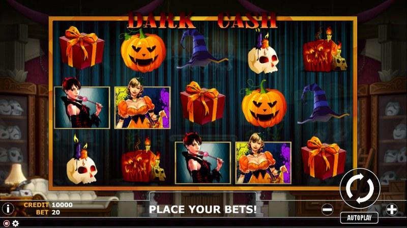 Dark Cash :: Main Game Board