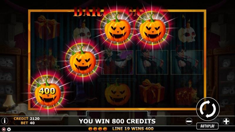 Dark Cash :: Four of a kind Win