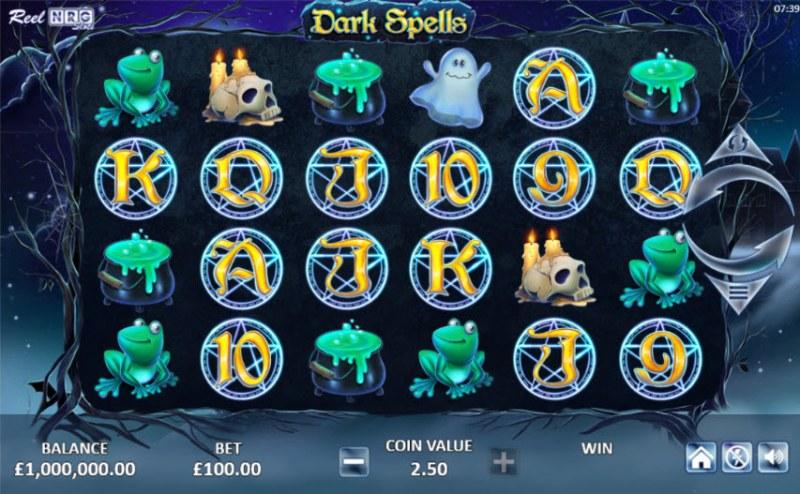 Dark Spells :: Main Game Board