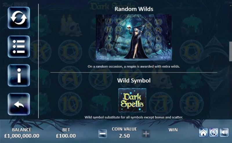 Dark Spells :: Feature Rules