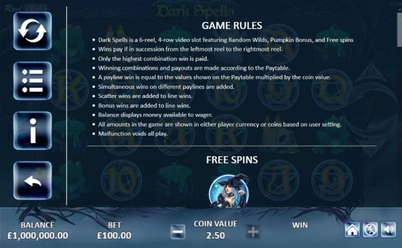 Dark Spells :: General Game Rules