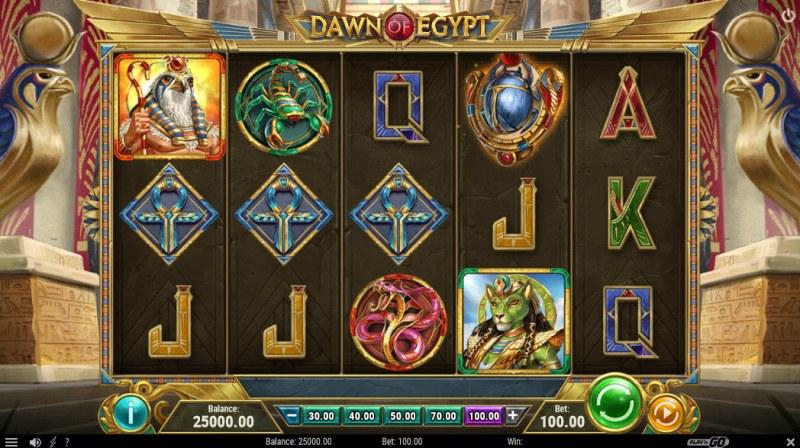 Dawn of Egypt :: Main Game Board