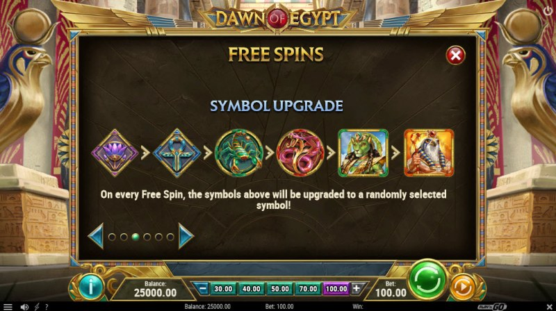 Dawn of Egypt :: Symbols Upgrade