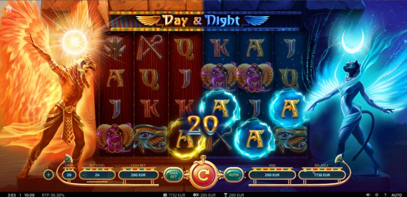 Day & Night :: Game Pays In Both Directions