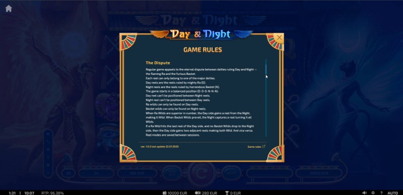 Day & Night :: General Game Rules