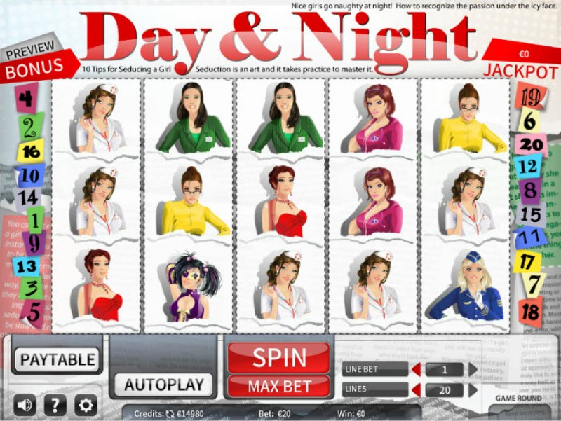 Day & Night :: Main Game Board