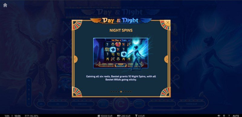 Day & Night :: Free Spin Feature Rules