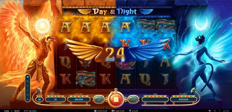 Day & Night :: Multiple winning combinations
