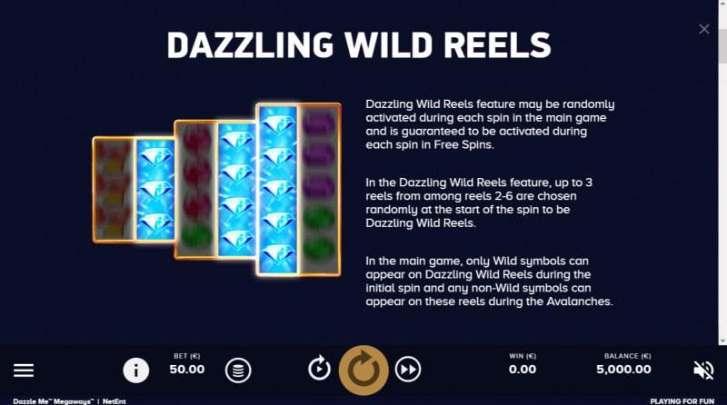 Dazzle Me Megaways :: Dazzling Wild Reels