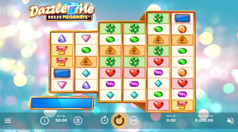 Dazzle Me Megaways :: Base Game Screen