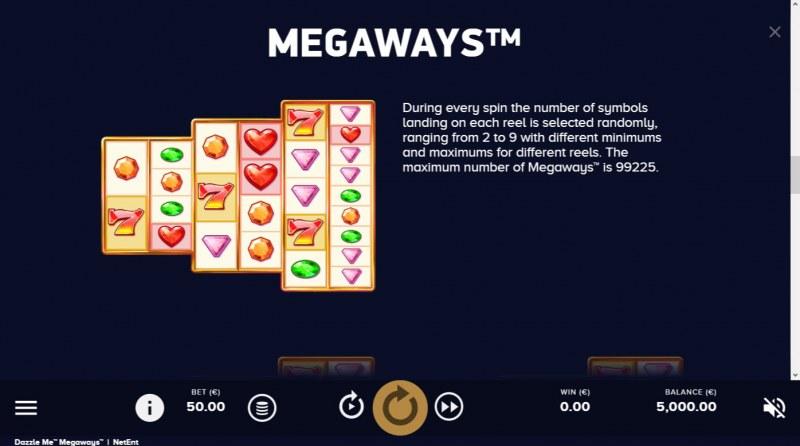 Dazzle Me Megaways :: Megaways