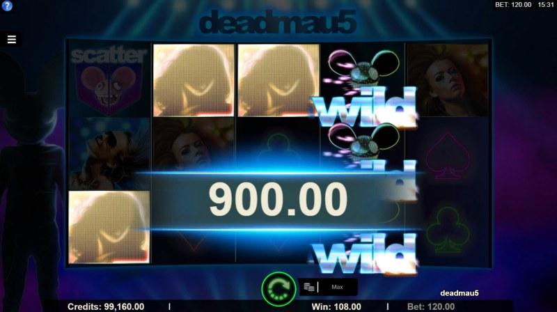 Deadmau5 :: Rolling feature triggers additional winnin
