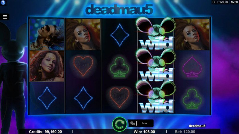 Deadmau5 :: A four of a kind win