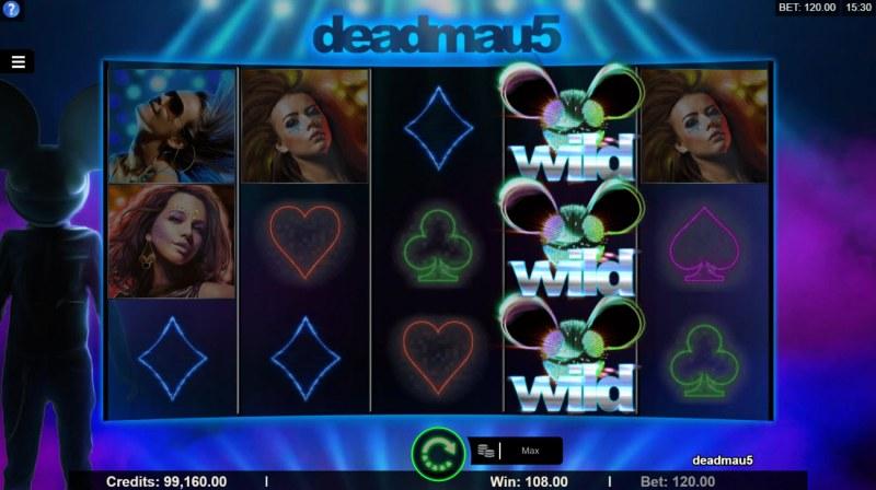 Deadmau5 :: A four of a kind win