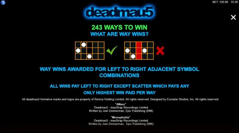Deadmau5 :: 243 Ways to Win