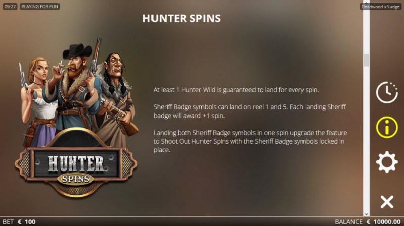 Deadwood :: Hunter Spins