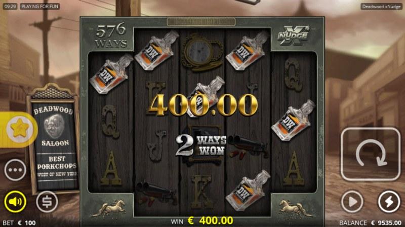 Deadwood :: A five of a kind win