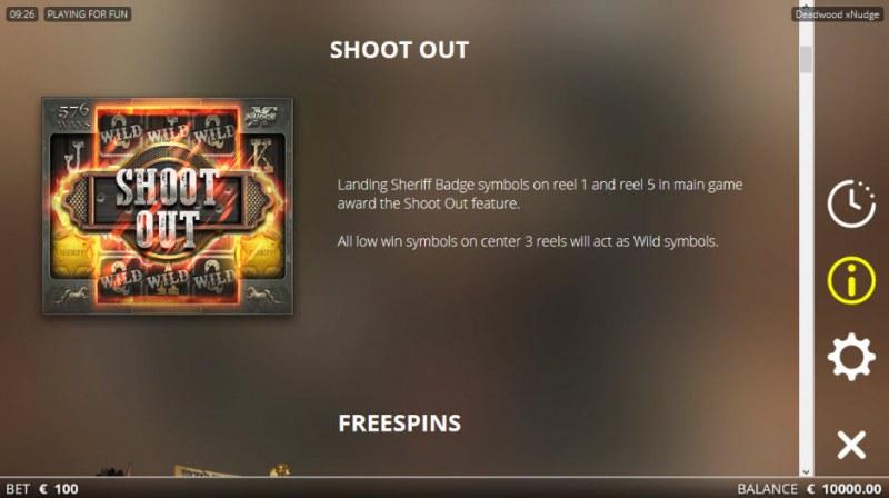 Deadwood :: Shoot Out