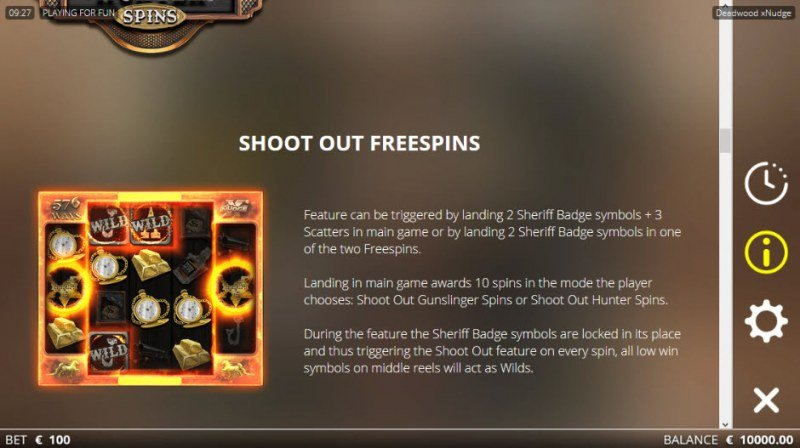 Deadwood :: Shoot Out Free Spins