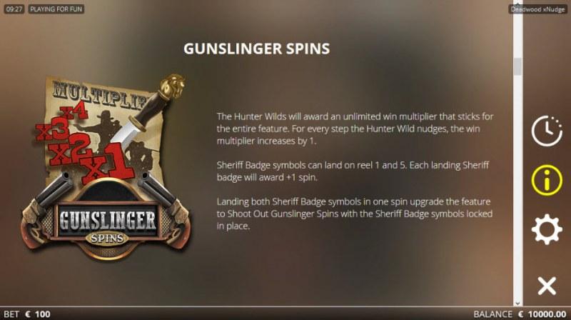 Deadwood :: Gunslinger Spins