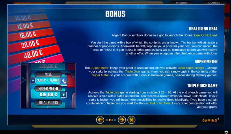 Deal or No Deal Blue :: Bonus Feature
