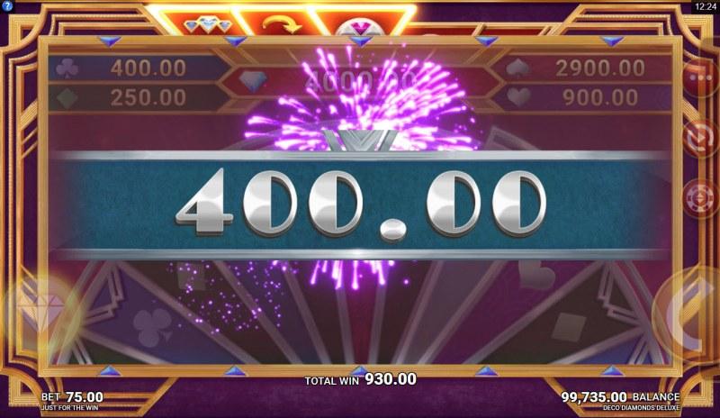 Deco Diamonds Deluxe :: Total bonus payout