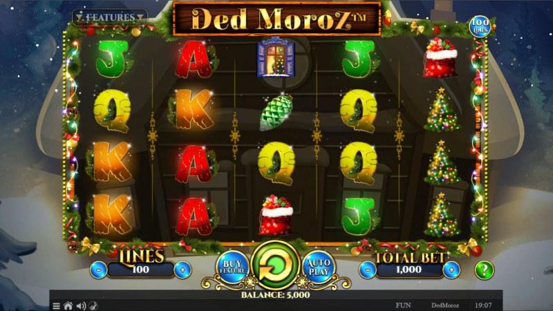 Ded Moroz :: Base Game Screen