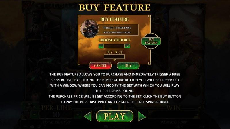 Demi Gods II 15 Lines :: Buy Feature