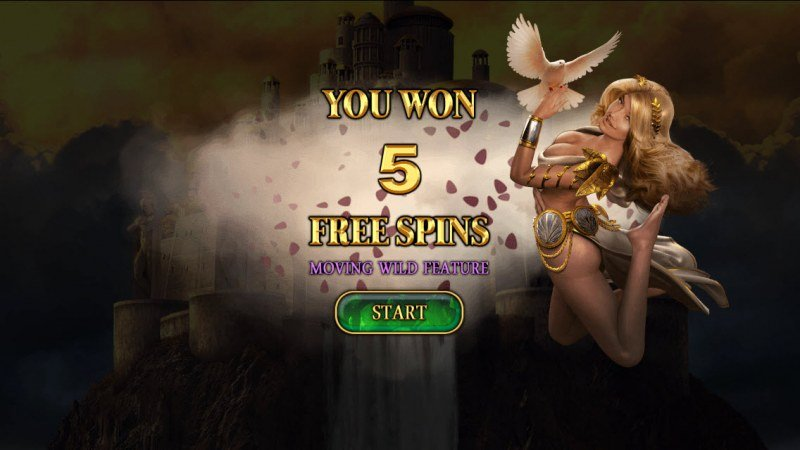 Demi Gods II 15 Lines :: 5 Free Spins Awarded