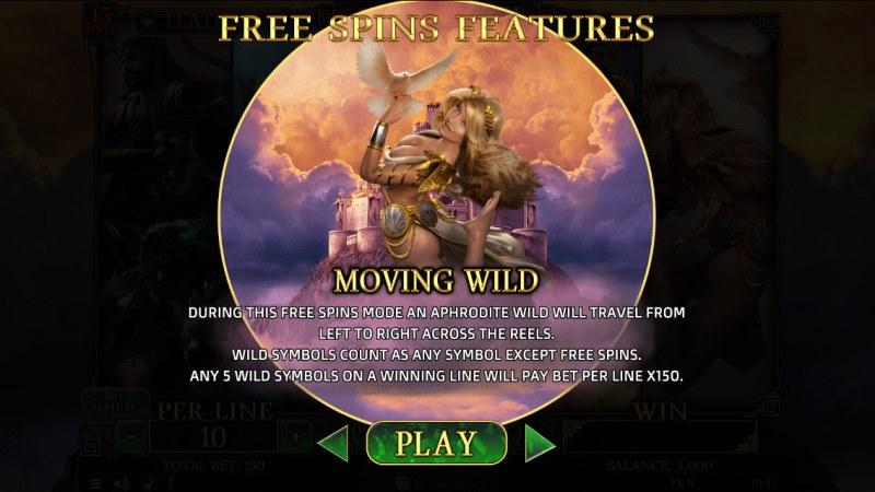 Demi Gods II 15 Lines :: Aphrodite Free Spins