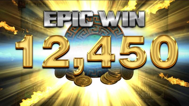 Demi Gods II 15 Lines :: Epic Win