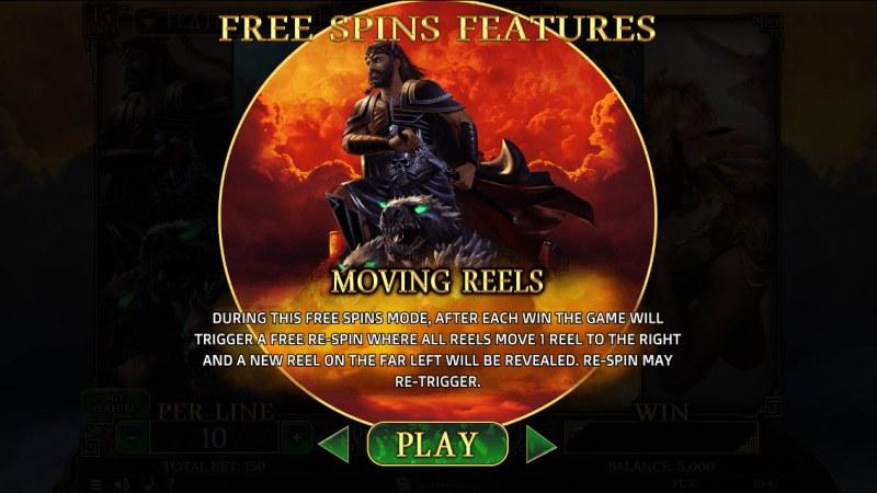 Demi Gods II 15 Lines :: Hades Free Spins
