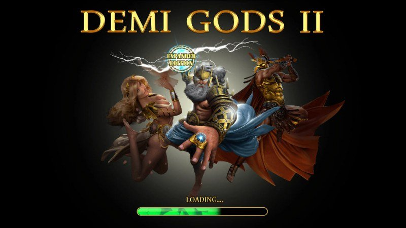 Play slots at Harrys Casino: Harrys Casino featuring the Video Slots Demi Gods II Expanded Edition with a maximum payout of $100,000