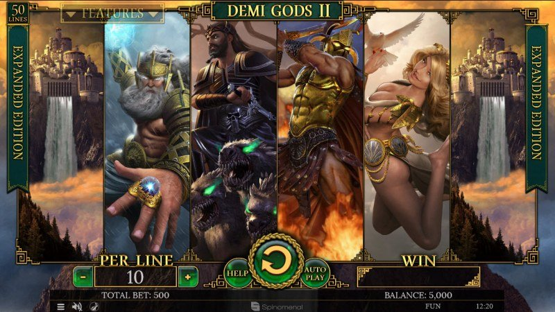 Demi Gods II Expanded Edition :: Main Game Board