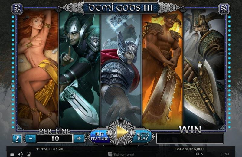 Demi Gods III :: Main Game Board