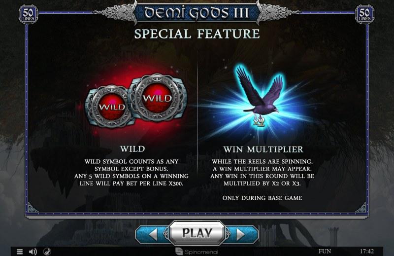 Demi Gods III :: Special Symbols