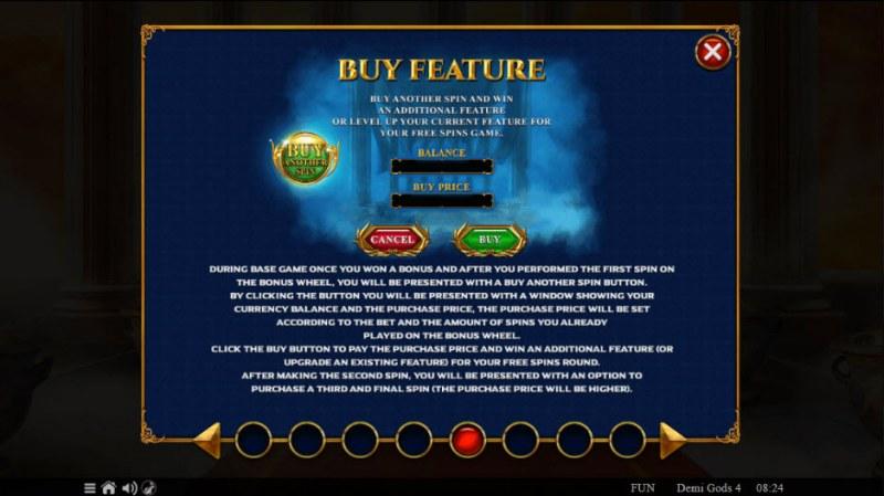 Demi Gods IV :: Buy Feature