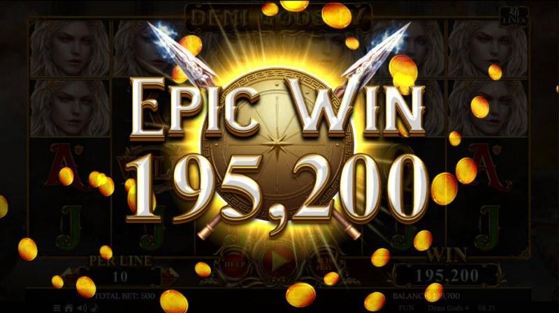 Demi Gods IV :: Epic Win