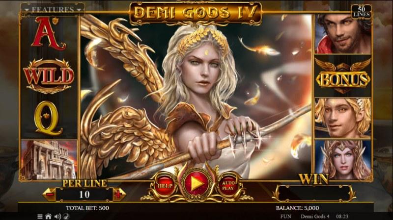 Demi Gods IV :: Main Game Board