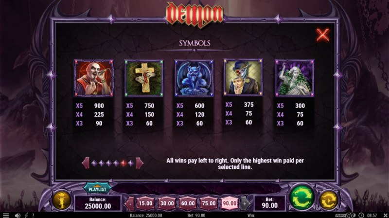 Play slots at Wild Slots: Wild Slots featuring the Video Slots Demon with a maximum payout of $450,000