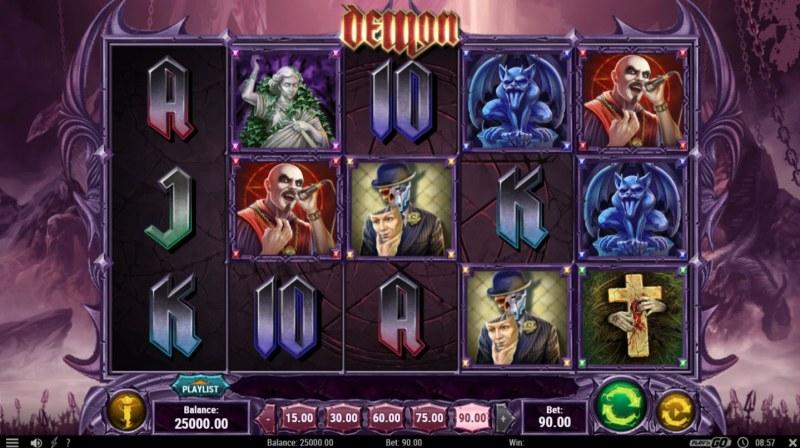 Demon :: Main Game Board