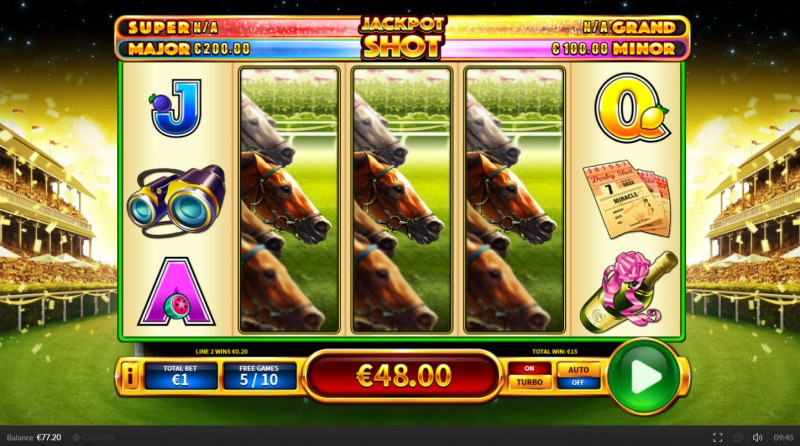 Derby Shot :: Multiple winning paylines