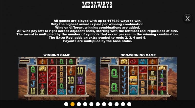 Desperados Wild Megaways :: Up to 117649 Megaways