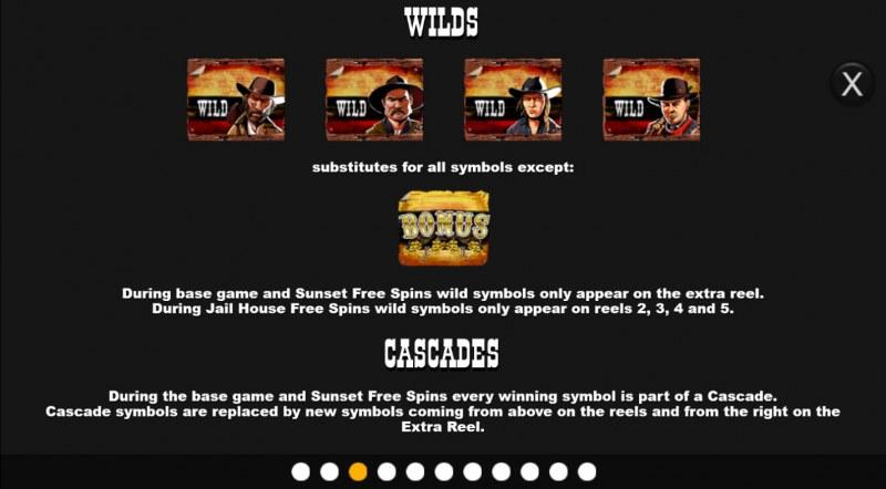 Desperados Wild Megaways :: Wild Symbol Rules