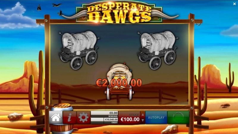 Desperate Dawgs :: Pick Me Bonus