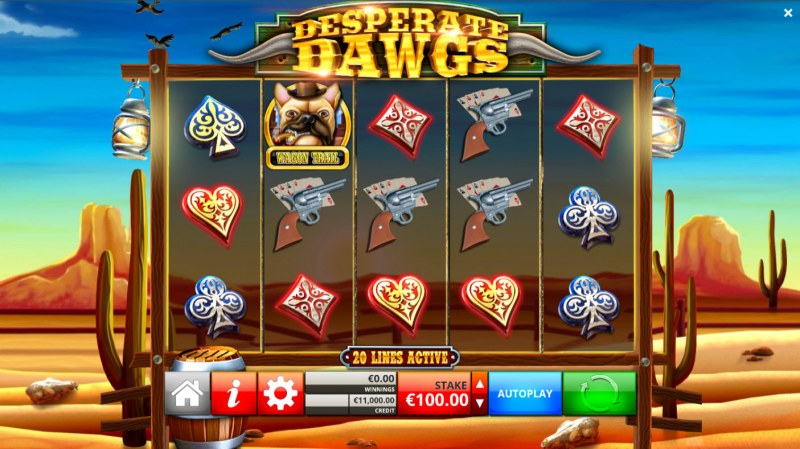 Desperate Dawgs :: Main Game Board